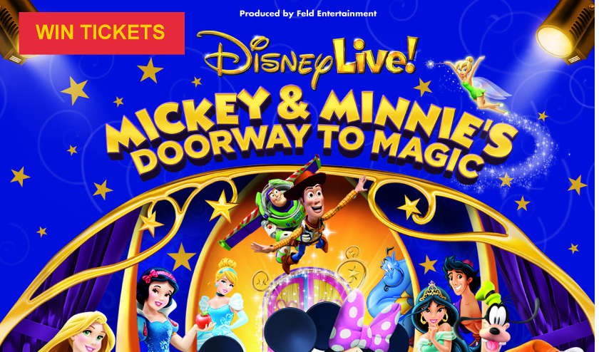 Win Tickets! for «Mickey & Minnie's Doorway to Magic»!