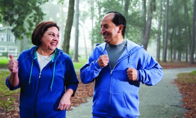 Manténgase activo para tener un corazón sano