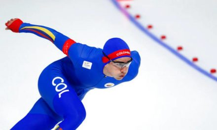 Patinador colombiano logra anhelo olímpico en hielo coreano