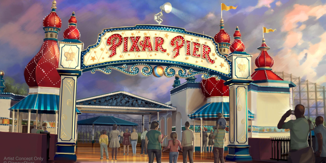 Pixar Pier debuta el 23 de junio de 2018, y una nueva carroza inspirada en 'The Incredibles' que añade súper diversión al desfile 'Paint the Night', en Disney California Adventure Park