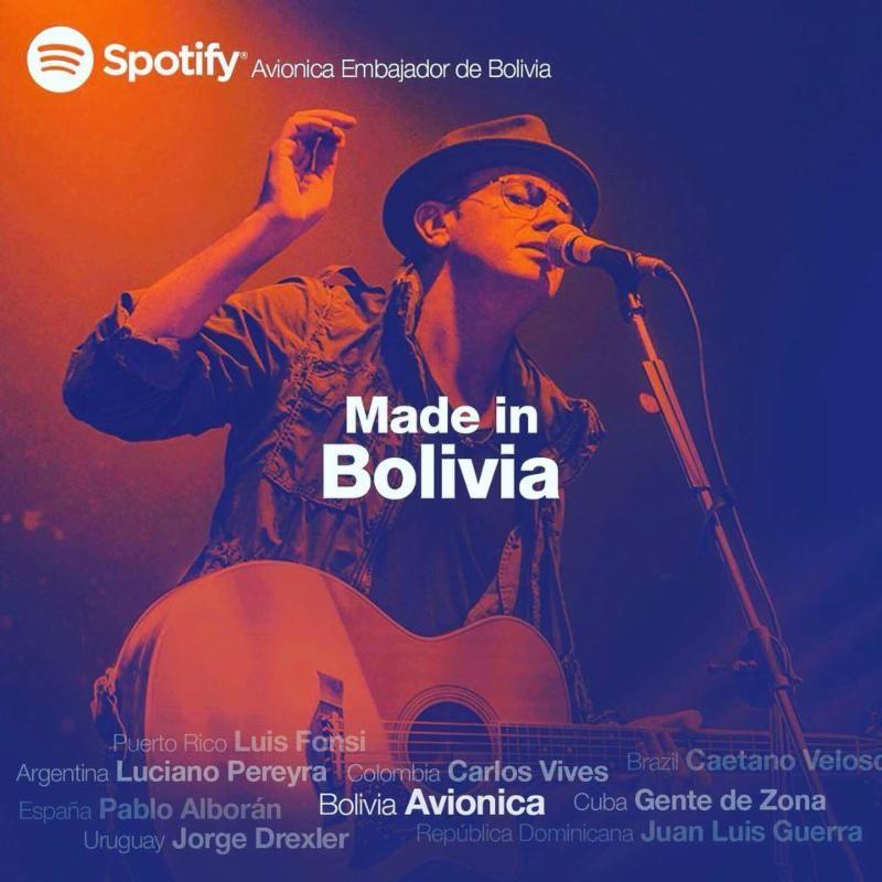 """Nombrado por Spotify  Embajador Musical de Bolivia lanza su nuevo sencillo  """"Dejaré de Hablar de Ti"""""""