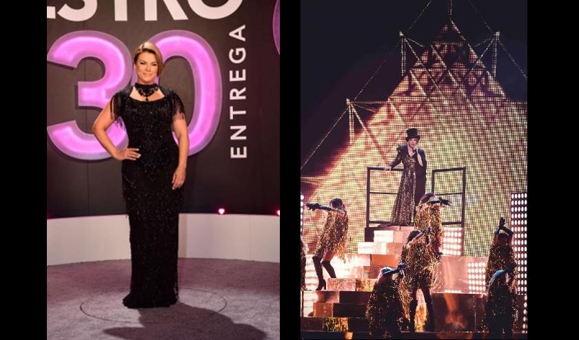 La noche de los 30 años de Premio Lo Nuestro sin duda fue especial para Olga Tañón