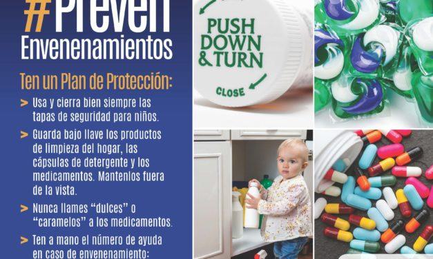 Semana Nacional de Prevención de Envenenamientos 2018