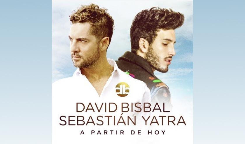 David Bisbal y Sebastian Yatra presentan su video y sencillo A PARTIR DE HOY