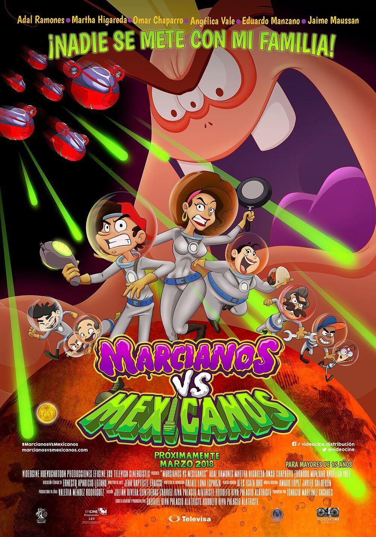 Marcianos vs Mexicanos se estrena en México
