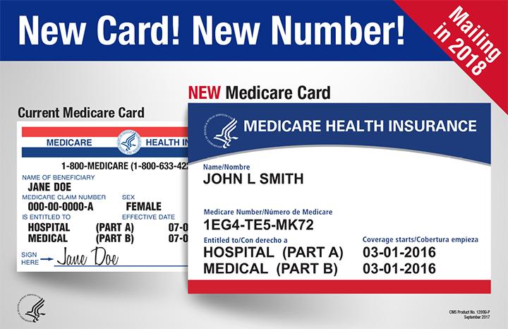 Pronto llegan las nuevas tarjetas de Medicare