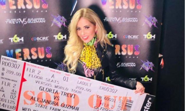 El Día de ayer arrancó la despedida triunfal del 'Versus World Tour' de Gloria Trevi y Alejandra Guzmán anotándose un Tercer Sold Out en el State Farm Arena de Mcallen, Texas