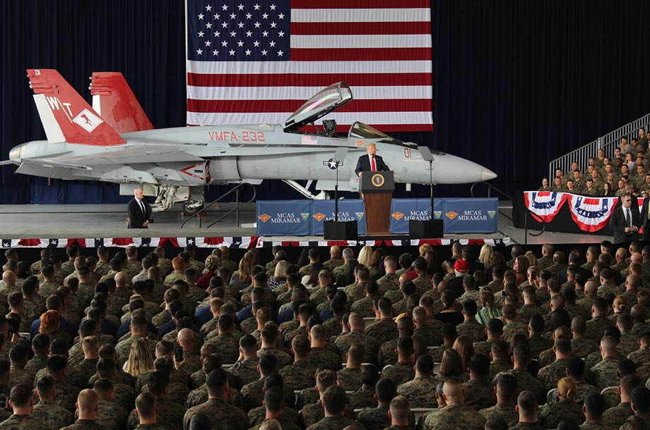 Donald Trump visita San Diego