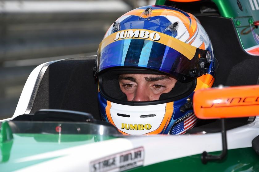Alfonso Celis Jr. finaliza séptimo en su debut en Indy Lights