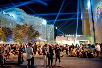 Segerstrom Center for the Arts presents Brilliance! – A Night of Music and Light on the Julianne and George Argyros Plaza
