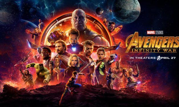 AVENGERS: INFINITY WAR se estrena el 27 de abril de 2018 en U.S.