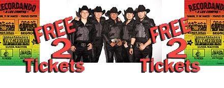 Sorteo de 4 Boletos para el Show Recordando a Los Compas!