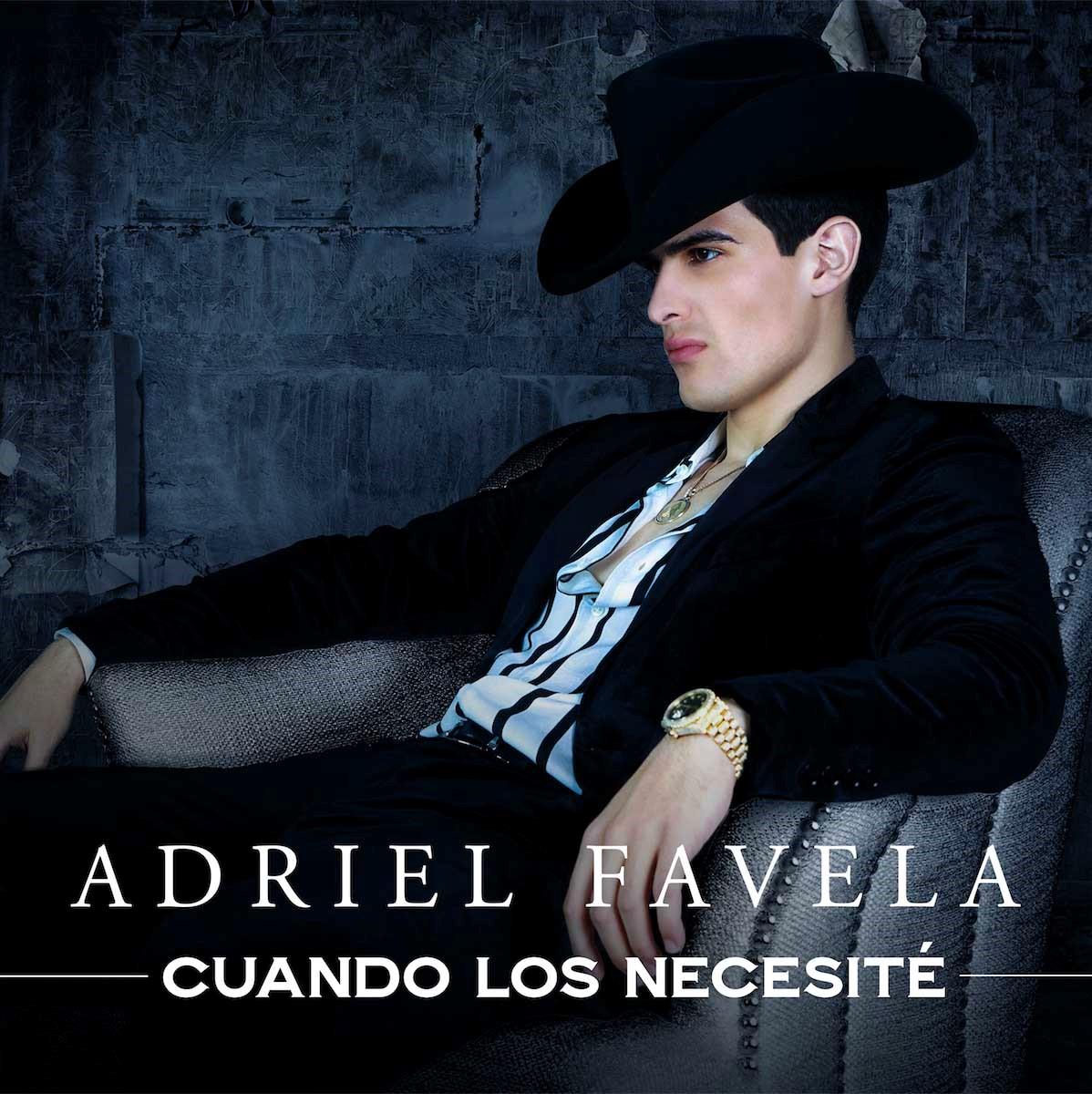 """ADRIEL FAVELA celebra estreno de nuevo sencillo """"Cuando Los Necesité"""""""