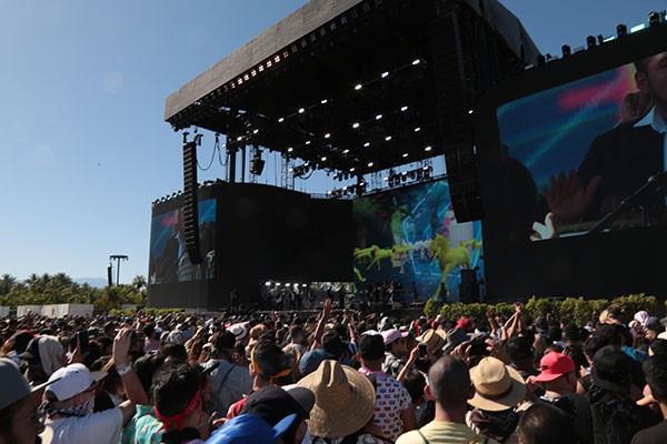 Los Ángeles Azules superaron toda espectativa en el Festival Coachella