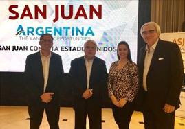 Inversionistas de Estados Unidos se unen a las provincias de San Juan y La Rioja de Argentina, para realizar intercambios comerciales bajo el lema «Argentina the land of opportunities»