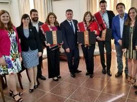 """Inversionistas de Estados Unidos se unen a las provincias de San Juan y La Rioja de Argentina, para realizar intercambios comerciales bajo el lema """"Argentina the land of opportunities"""""""