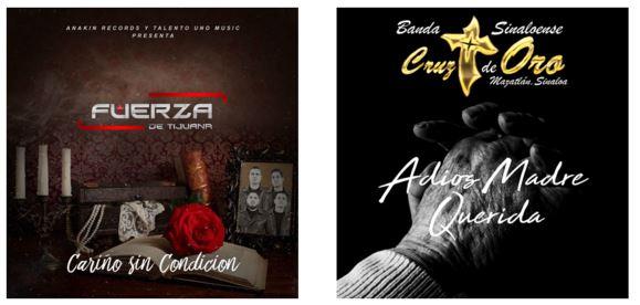 """Fuerza de Tijuana lanza su sencillo """"Cariño sin Condición"""" y Banda Cruz de Oro lanza """"Adiós Madre Querida"""""""