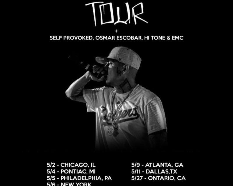 Osmar Escobar se une a la gira «Paint The City Blue Tour»de King Lil G