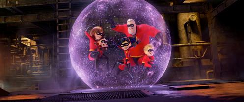 """Mira el nuevo trailer de """"INCREDIBLES 2"""""""