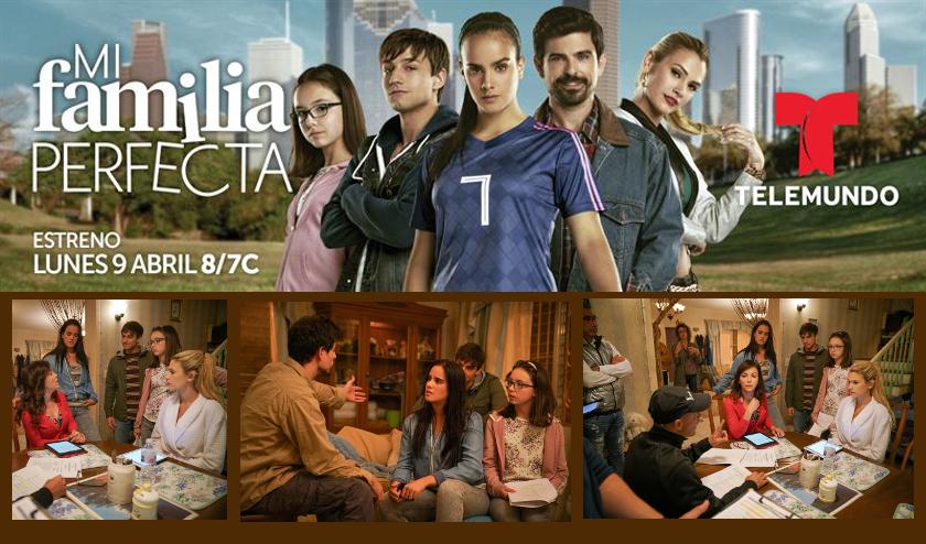 Una inspiradora historia sobre la lucha por alcanzar el sueño americano llega a Telemundo en «Mi Familia Perfecta»
