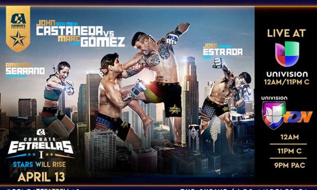 Univisión Deportes y Combate Américas Anuncian Acuerdo de Transmisión Multi-Anual para la Principal Serie Deportiva Hispana de Artes Marciales Mixtas