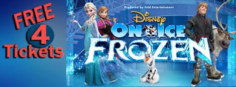 Sorteo de 4 boletos para Disney On Ice!