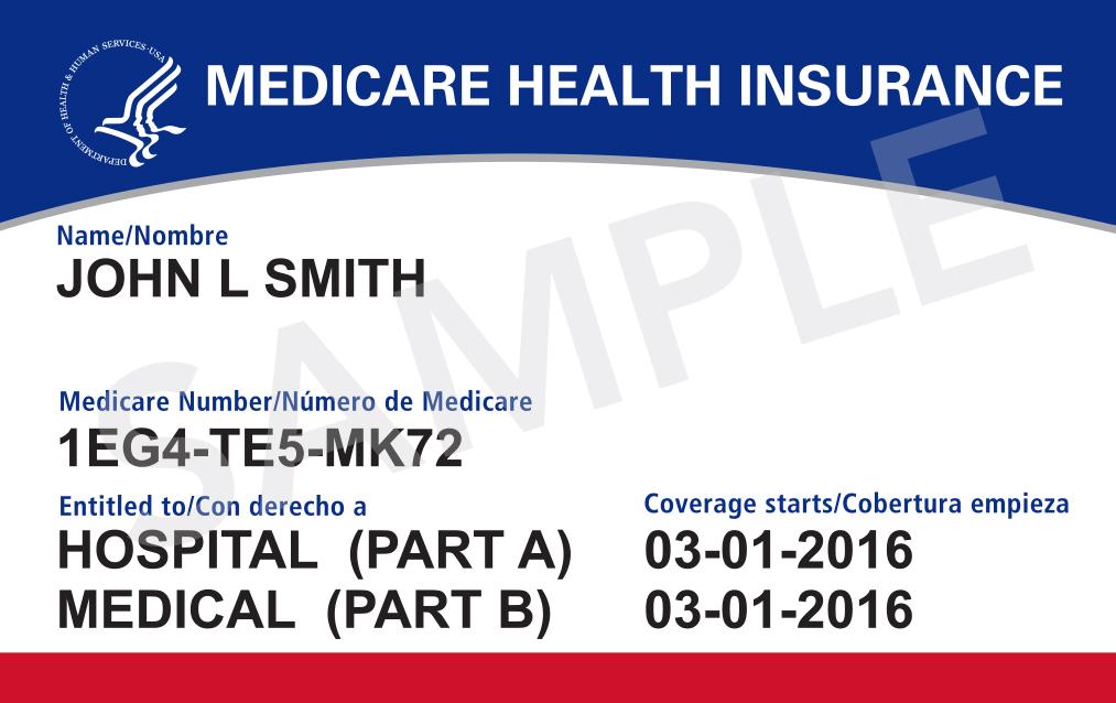 Llegan nuevas tarjetas de Medicare a los buzones de correo de California