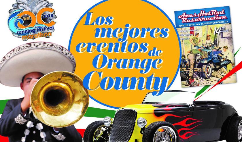 Los mejores eventos de Orange County