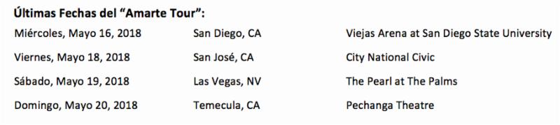 Juanes Y Mon Laferte iniciaron la etapa final del exitoso paso del 'Amarte Tour' por Norteamérica ante un show sold out en Los Ángeles