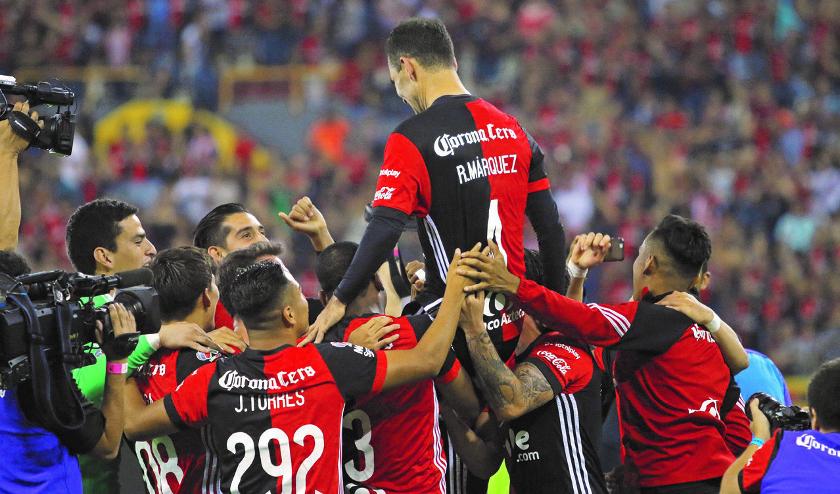 Rafael Márquez se despide del Atlas con un empate