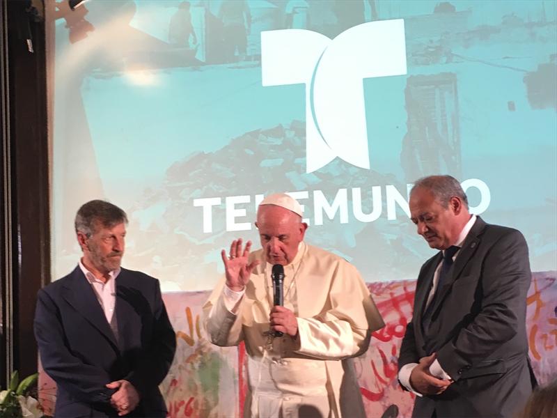 El Papa Francisco se une a «El Papa con lo Jóvenes Latinos», un especial exclusivo presentado por Telemundo Noticias el 20 de Mayo a las 5pm/4c