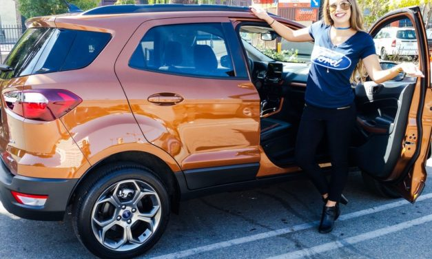 Go Small and Live Big con Ford EcoSport
