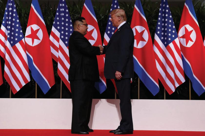 Concluye reunión entre Donald Trump y Kim Jong-un