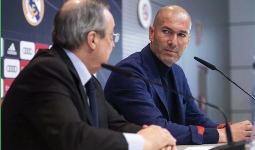 Renuncia Zinedine Zidane a la dirección técnica del Real Madrid