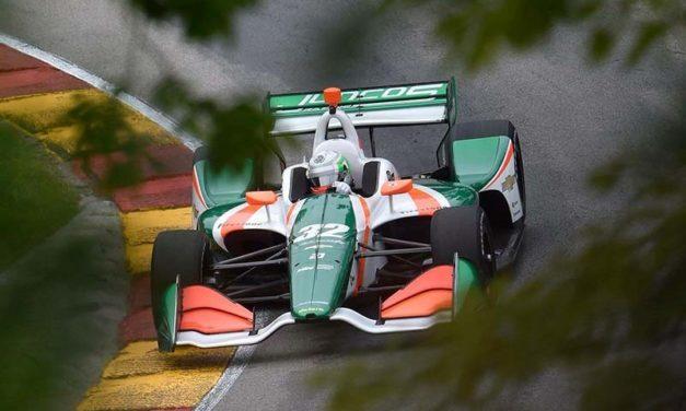 Alfonso Celis Jr logra sus primeros puntos en IndyCar