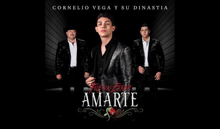 """Cornelio Vega y Su Dinastía celebra el lanzamiento de un nuevo sencillo y video musical """"Fue un error amarte"""""""