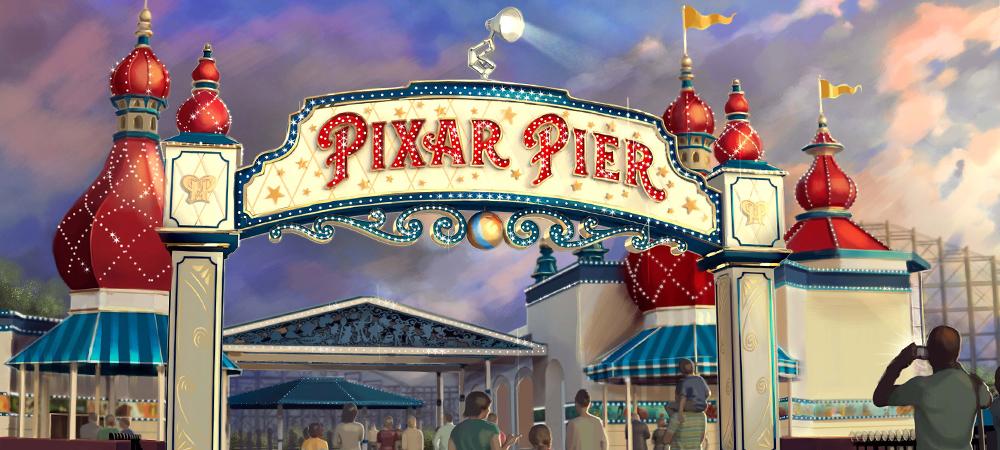 Disneyland Resort da inicio al verano con la inauguración de Pixar Pier el sábado 23 de junio de 2018 en Disney California Adventure Park