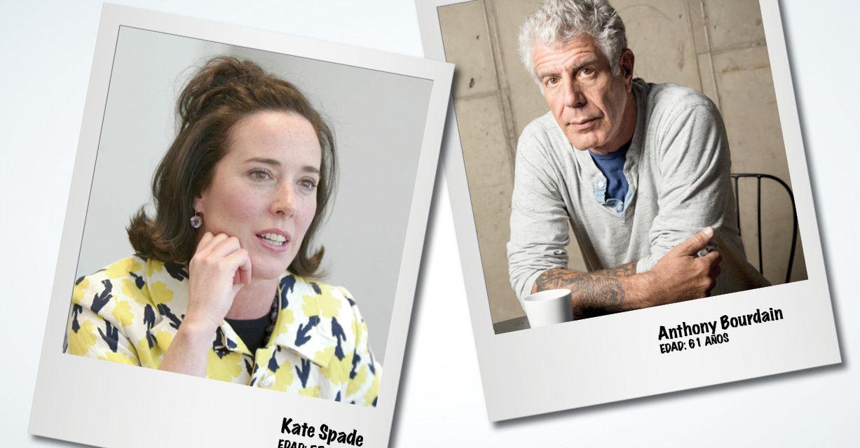 Kate Spade y Anthony Bourdain ¿Qué está pasando?