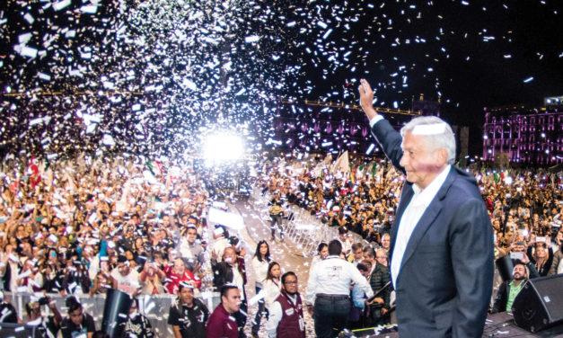 Andrés López Obrador, nuevo presidente de Mexico