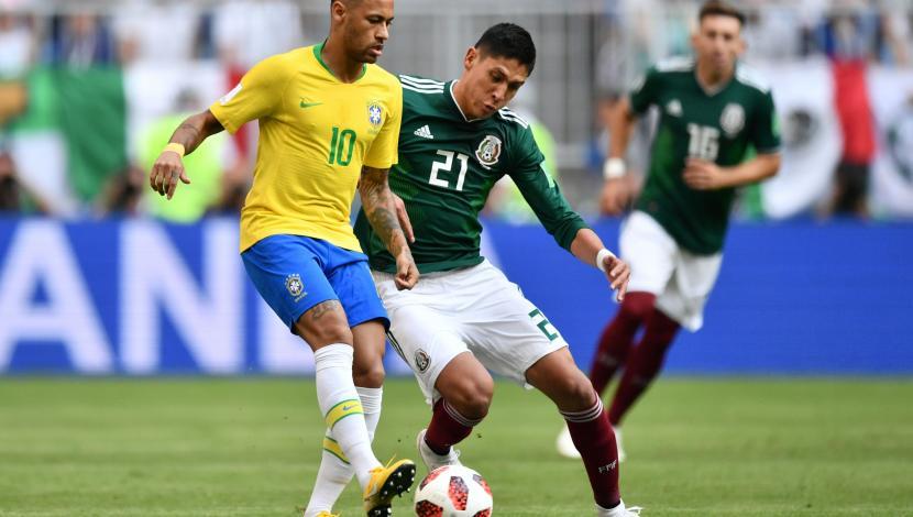 Brasil sigue firme en Rusia 2018: venció 2-0 a México y accedió a los cuartos de final