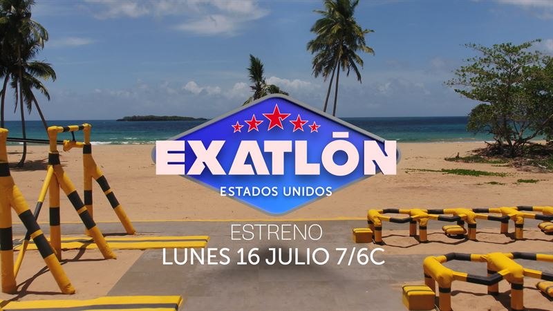El reality show deportivo Exatlón Estados Unidos de Telemundo se estrena hoy