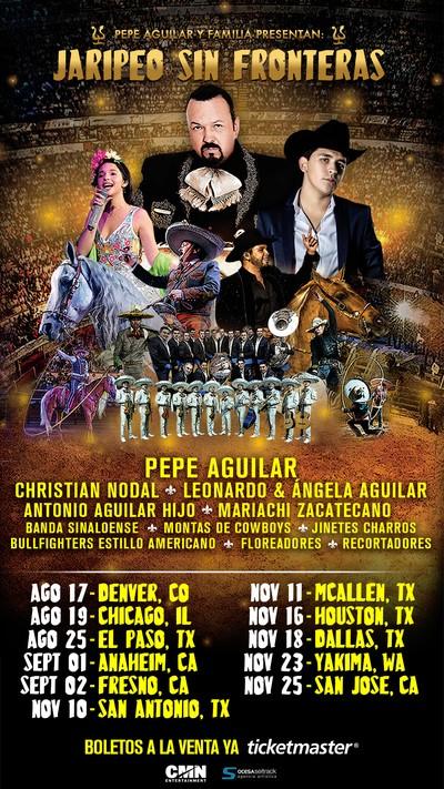 Pepe Aguilar se une con Voto Latino para registrar a los fans en sus conciertos