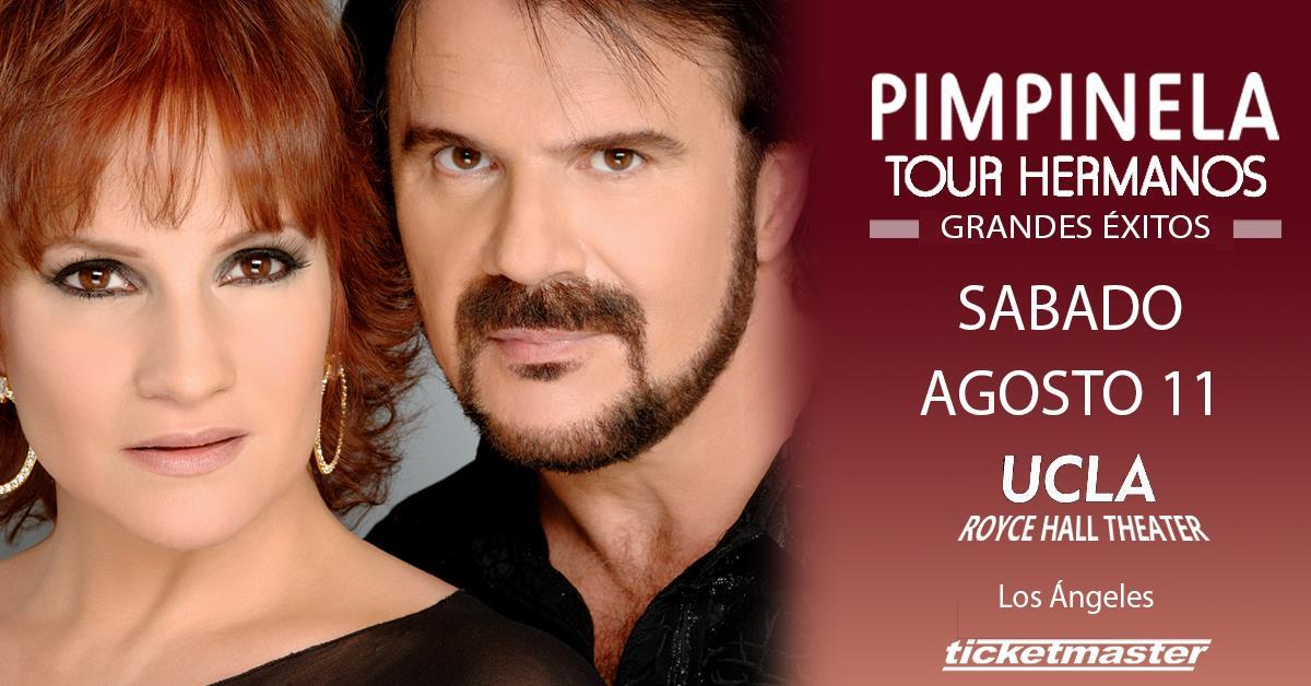 Pimpinela en Concierto – Se presentan en Los Angeles el 11 de Agosto