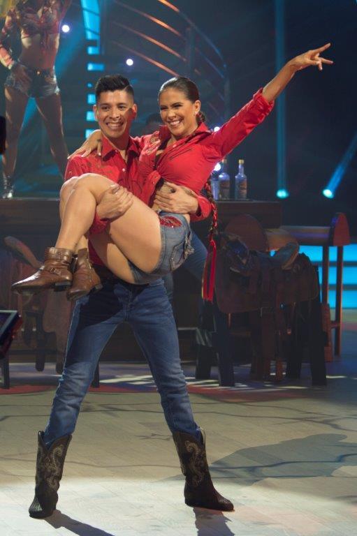 Rosie Rivera fue la cuarta eliminada de Mira Quién Baila