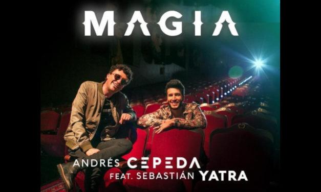 Andrés Cepeda estrena «Magia» junto a Sebastián Yatra