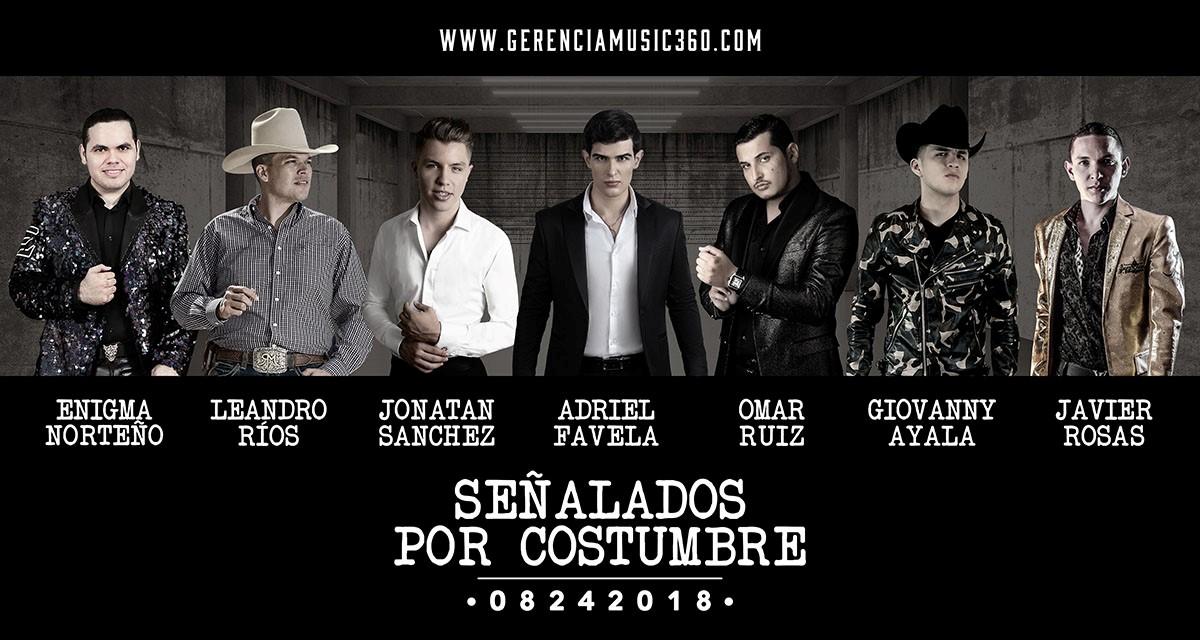Adriel Favela celebra el estreno de su nuevo álbum «Señalado Por Costumbre»