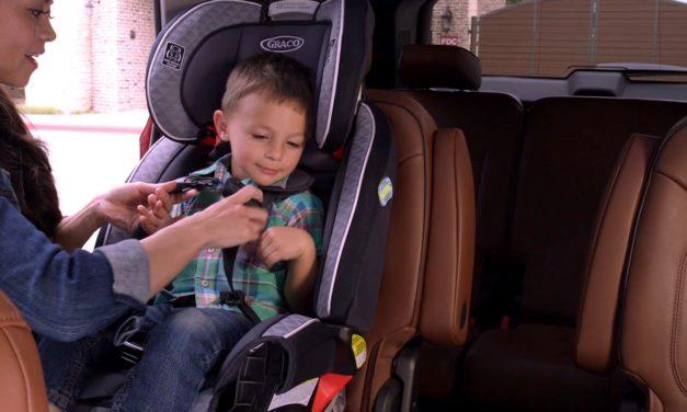 Consejos de Chevrolet para conducir seguro con un recién nacido