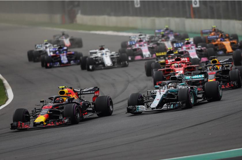 Hamilton se corona en F1; Verstappen gana en México