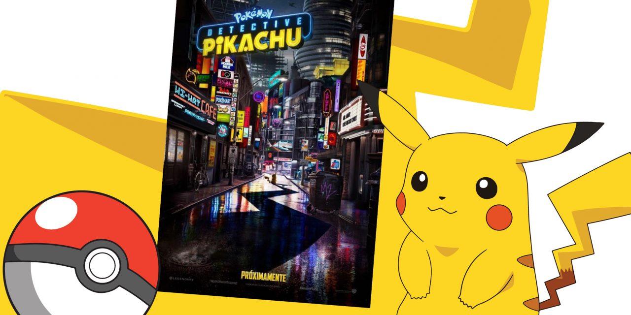 Lanzan tráiler de 'Pokémon: Detective Pikachu'