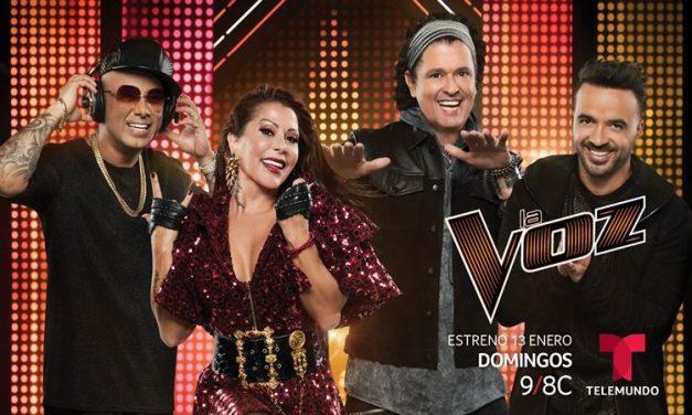 Telemundo estrena la Primera Edición en Estados Unidos de «La Voz»el Domingo 13 de Enero a las 9pm/8c
